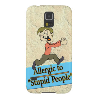 ALLERGIC TO STUPID PEOPLE SAMSUNG GALAXY NEXUS COVER