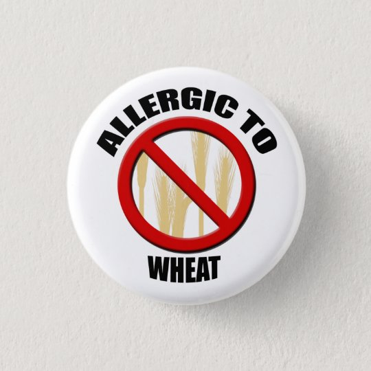 Allergic Wheat Alergy Medical Alert Warning Small 3