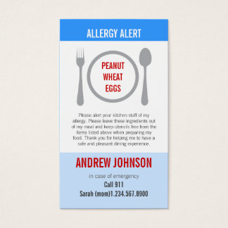 Allergy Alert Blue Sky Duotones