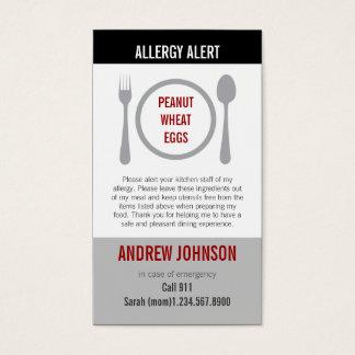 Allergy Alert Gray Duotones