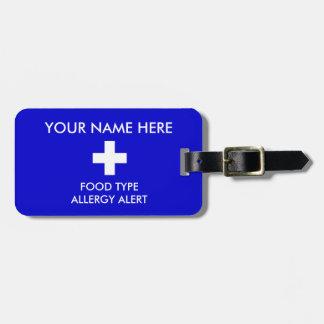 Allergy Alert ID/ICE Tag