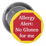 Allergy Alert:  No Gluten