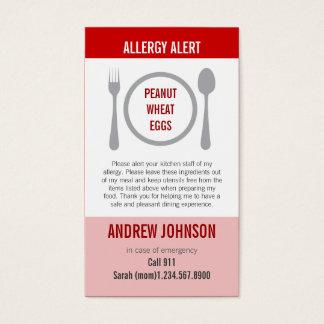 Allergy Alert Red Duotones