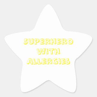 Allergy Child Stickers