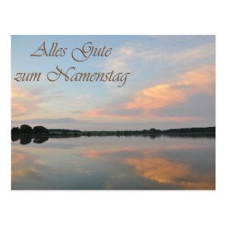 Alles Gute zum Namenstag Postcard