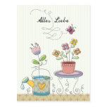 Alles Liebe Post Card