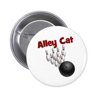 Alley Cat 6 Cm Round Badge