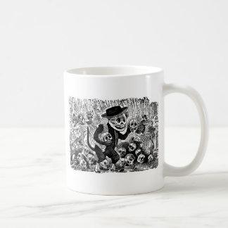 Alley Cat Calavera c. early 1900's Mexico. Coffee Mug