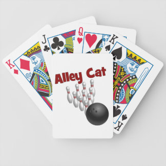 Alley Cat Bicycle Poker Deck