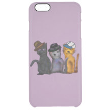 Alley Cats iPhone 6 Plus Deflector Case Uncommon Clearly™ Deflector iPhone 6 Plus Case