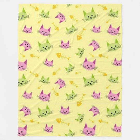 Alley Kitty Fleece Blanket