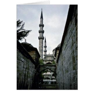 Alley Leading To Suleyman's Library, Suleymaniye C Greeting Card