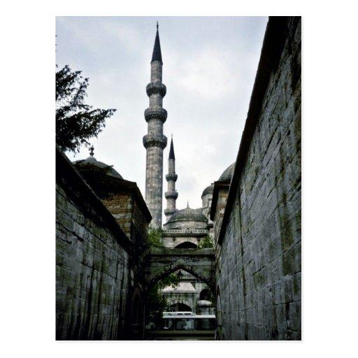 Alley Leading To Suleyman's Library, Suleymaniye C Post Card