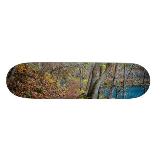 Alley Mill Autumn Walk Custom Skateboard