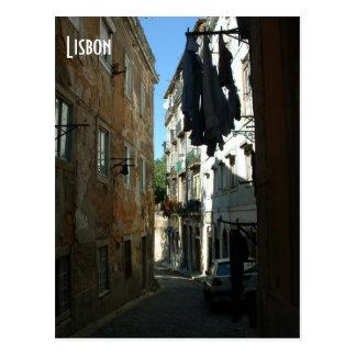 Alley Postcard