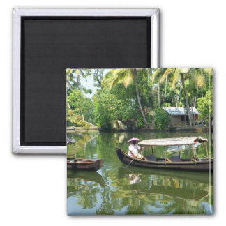 Alleypey backwaters, india square magnet