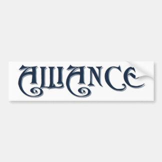 Alliance Bumper Sticker