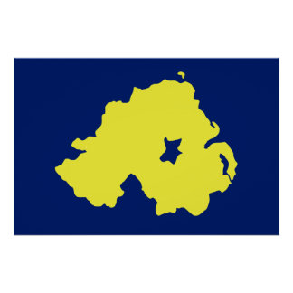 Alliance Northern Ireland flag Poster
