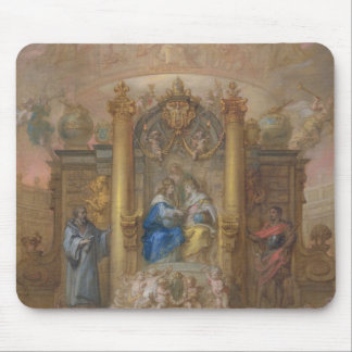 Alliance of France and Spain Mouse Mat