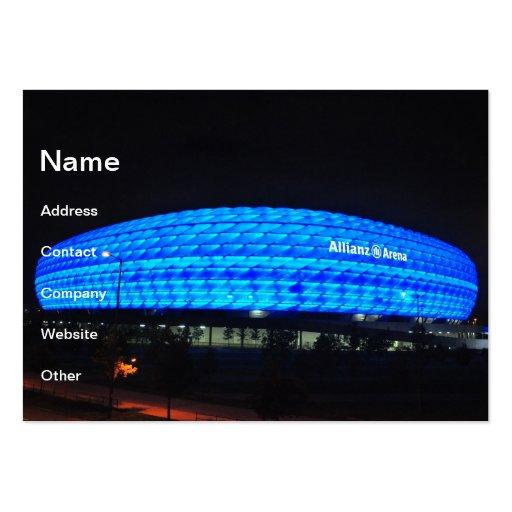 Allianz Arena at night, Munich Business Cards