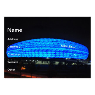 Allianz Arena at night, Munich Pack Of Chubby Business Cards