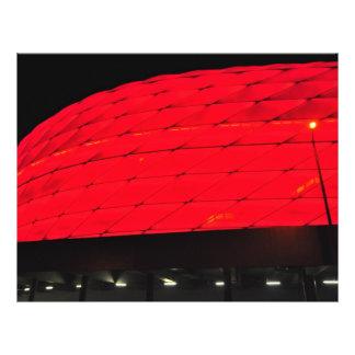 Allianz Arena Munich Flyer Design