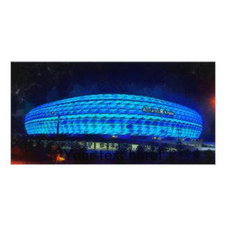 Alliaz Arena painting Customized Photo Card