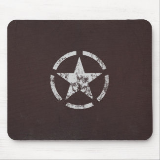 Allied US White Star Vintage Mouse Mat