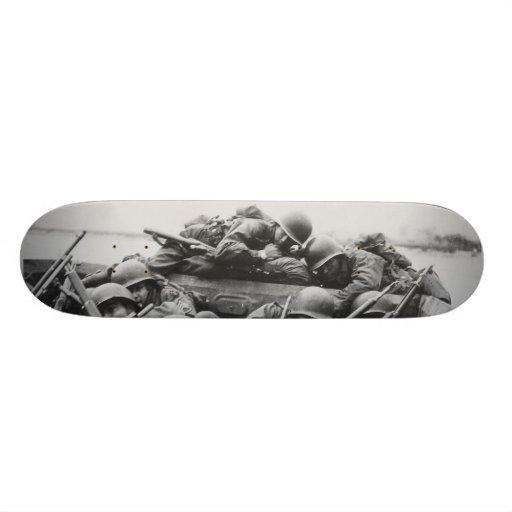 Allied World War II Soldiers Crossing the Rhine Skateboards