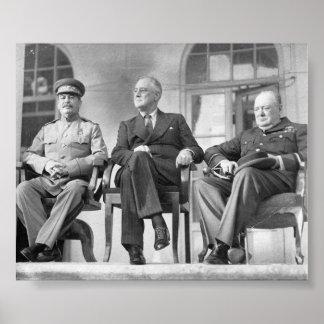 Allies of World War II Poster