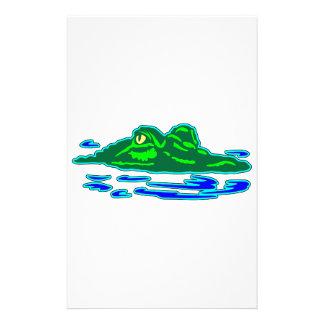 Alligator #018 stationery
