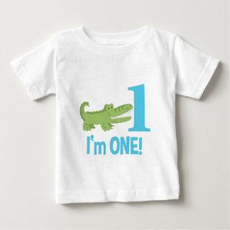 Alligator 1st Birthday I'm ONE T-Shirt