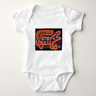 ALLIGATOR 2000 dpi 3000 BLK BORDER FIX Baby Bodysuit