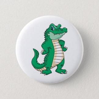 Alligator 6 Cm Round Badge