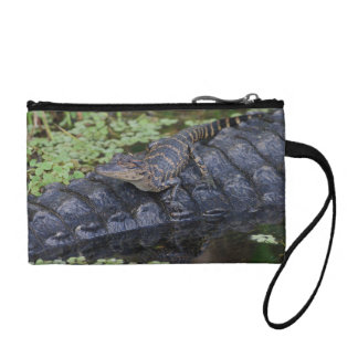 Alligator Baby & Mom Coin Purse