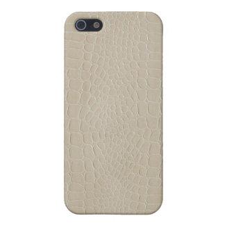 Alligator Beige iPhone 5 Covers