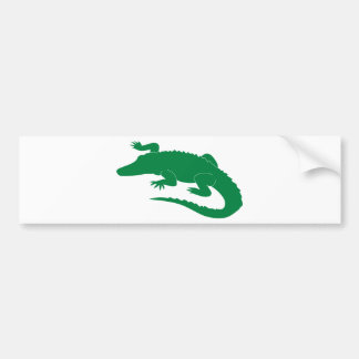 Alligator Bumper Sticker