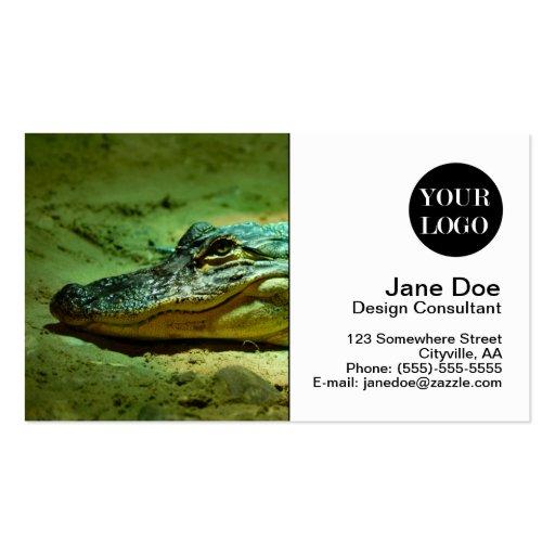Alligator Business Cards