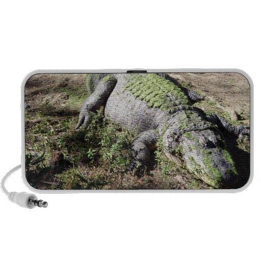 Alligator Camouflage iPhone Speaker