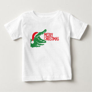 Alligator christmas T-shirt