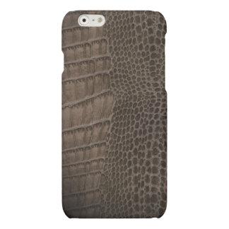 Alligator Classic Reptile Leather (Faux) iPhone 6 Plus Case