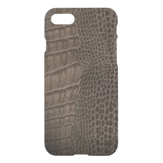 Alligator Classic Reptile Leather (Faux) iPhone 7 Case