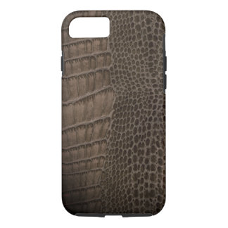 Alligator Classic Reptile Leather (Faux) iPhone 8/7 Case