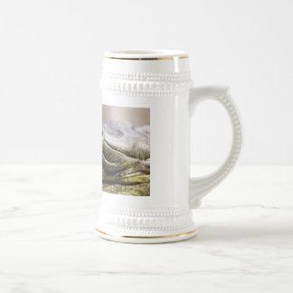 Alligator closeup photo coffee mug