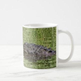 Alligator Coffee Cup Basic White Mug