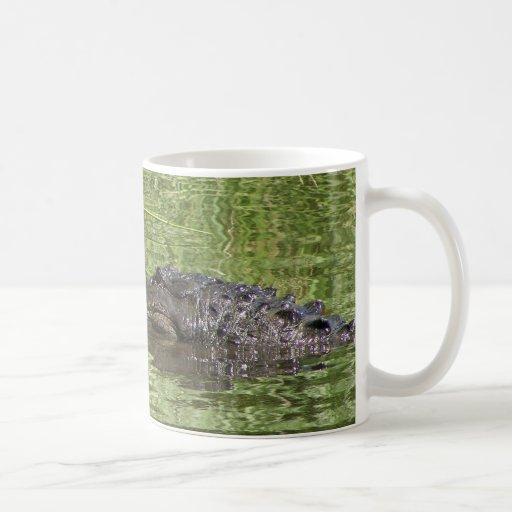 Alligator Coffee Cup Mugs