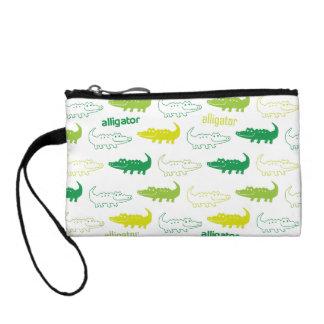 alligator coin purse