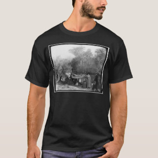 Alligator Hunting, Tomoka River, Florida 1880-1897 T-Shirt