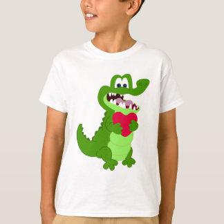 Alligator in Love T-Shirt