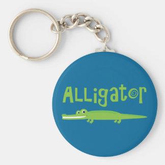Alligator Key Ring